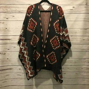 Jackets & Blazers - Sweater Poncho
